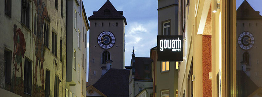 arrangements hotel goliath am dom in regensburg. Black Bedroom Furniture Sets. Home Design Ideas